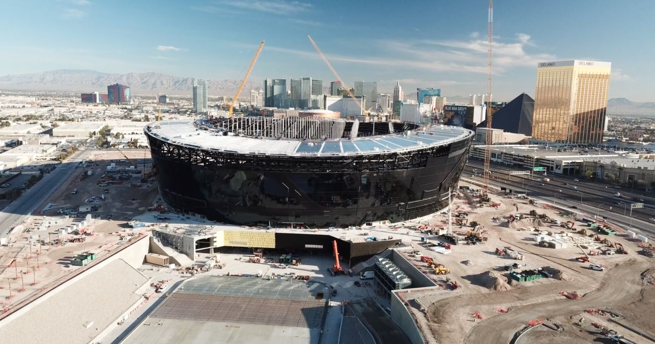 Allegiant stadium, Las Vegas, USA | Freyssinet News