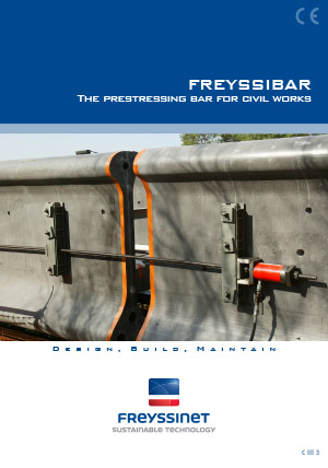 The prestressing bar for civil works - Freyssibar  Brochure  Freyssinet