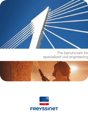Prestressing - Benchmark for civil engineering  Brochure  Freyssinet